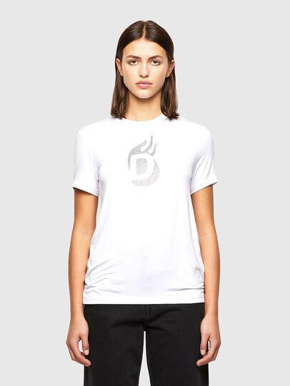 Diesel - T-SILY-R1, Weiß - T-Shirts - Image 1