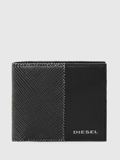 Diesel - HIRESH S, Schwarz/Weiß - Kleine Portemonnaies - Image 1