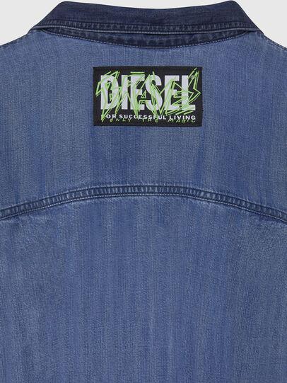 Diesel - DE-NILLA, Hellblau - Denimhemden - Image 4